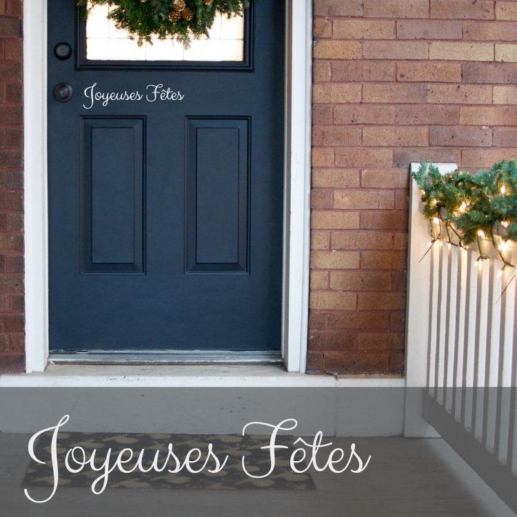 Joyeuses Fêtes / Joyeux Noël
