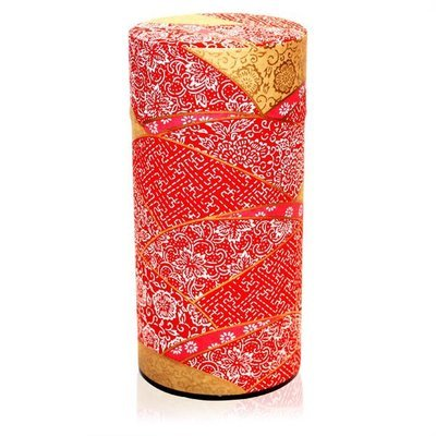 Kimono Tea Canister (Red - 200g)