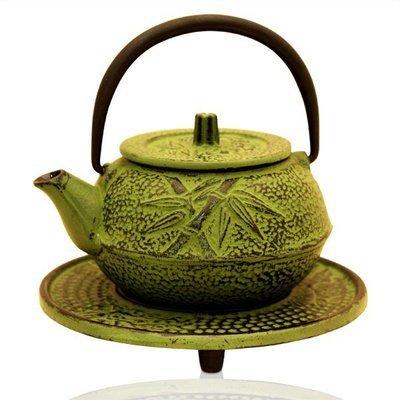 Cast Iron Teapot Shizuka Green 300ml