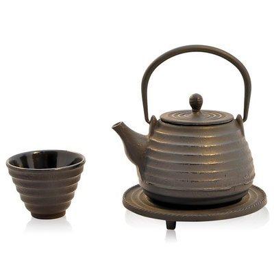 Cast Iron Teapot Kochi Black 500ml