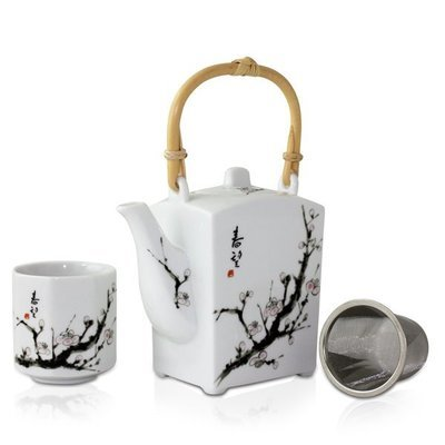 Shunbo Teapot + 4 Cup Set