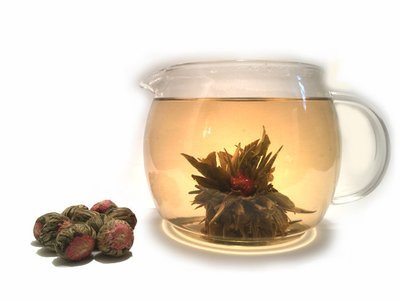 Golden Fortune Flowering Tea (10 pieces)