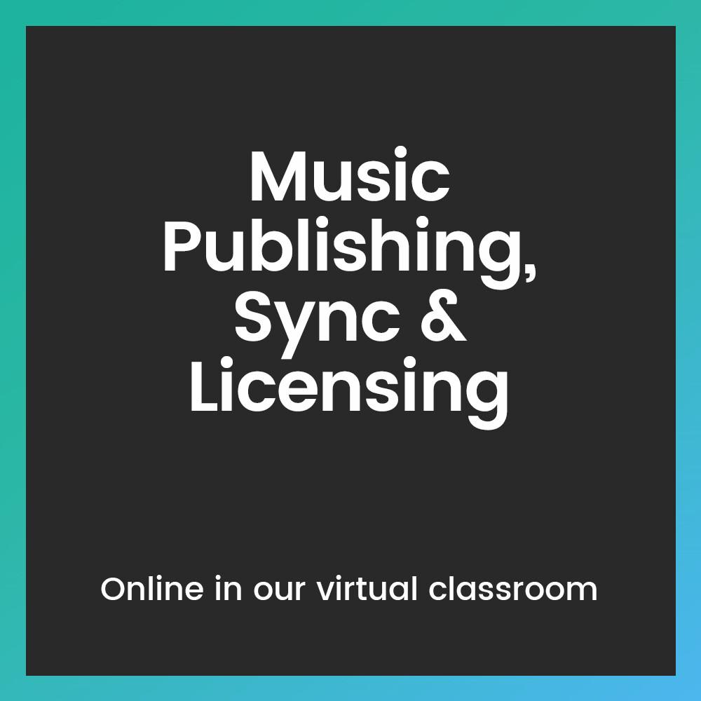 Music Publishing, Sync & Licensing
