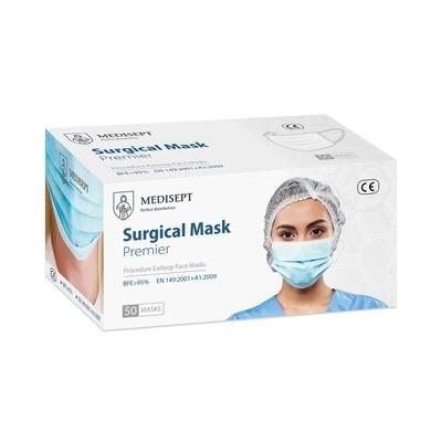 MEDISEPT Surgical Mask ONE BOX 50 MASKS