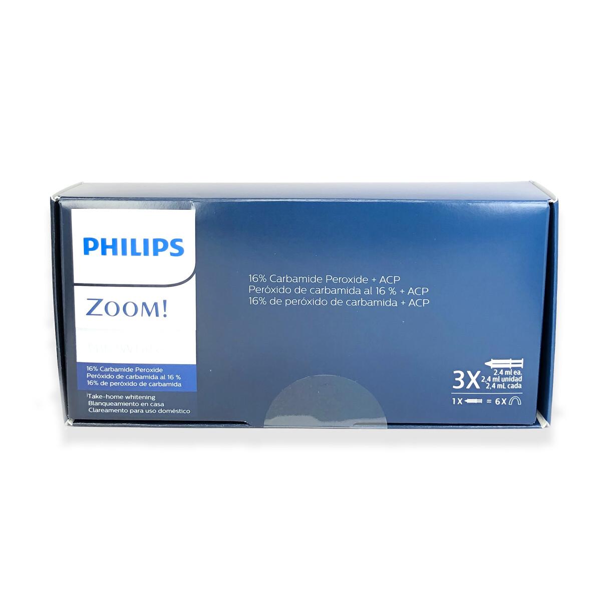 Philips Zoom NiteWhite Quick ACP 16% Teeth Whitening Kit w/ NuBox Tooth Shade Card Bundle