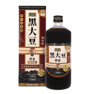The gen - Premium Fermented Black Bean Enzyme (720ml)