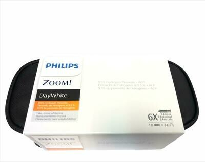 Philips zoom Take Home Whitening DayWhite 9.5%  hydrogen peroxide 6 Syringes - 18 applications without Fluoride (Standard Kit)