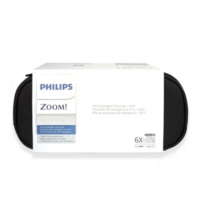 Philips zoom Take Home Whitening DayWhite 14%  hydrogen peroxide 6 Syringes - 18 applications without Fluoride (Standard Kit)
