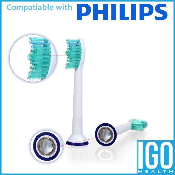 VeniCare Compatible replacement tooth brush heads for Philips Sonicare ProResults - DiamondClean - EasyClean - FlexCare