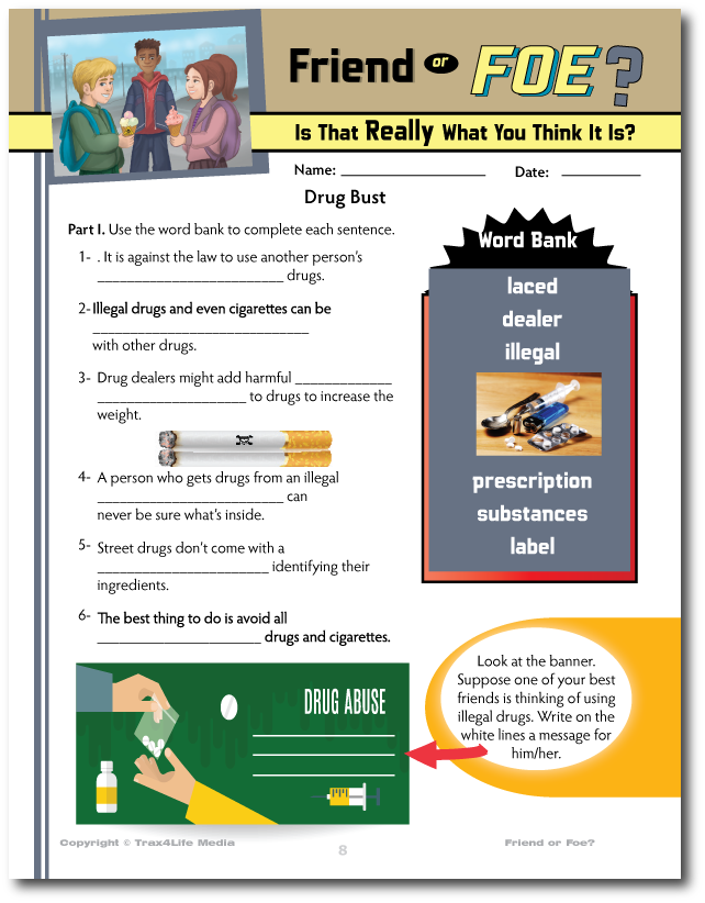 """Discovery Guide for Kids on the Danger of """"Laced"""" Drugs"""