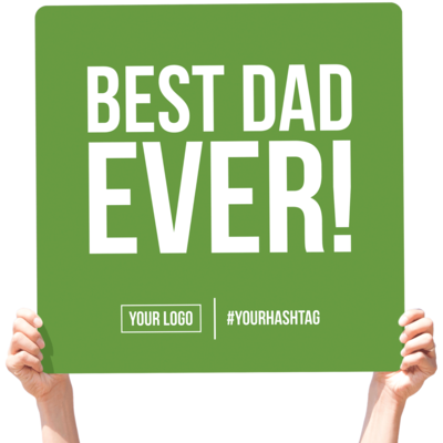 Father's Day Greeting Sign