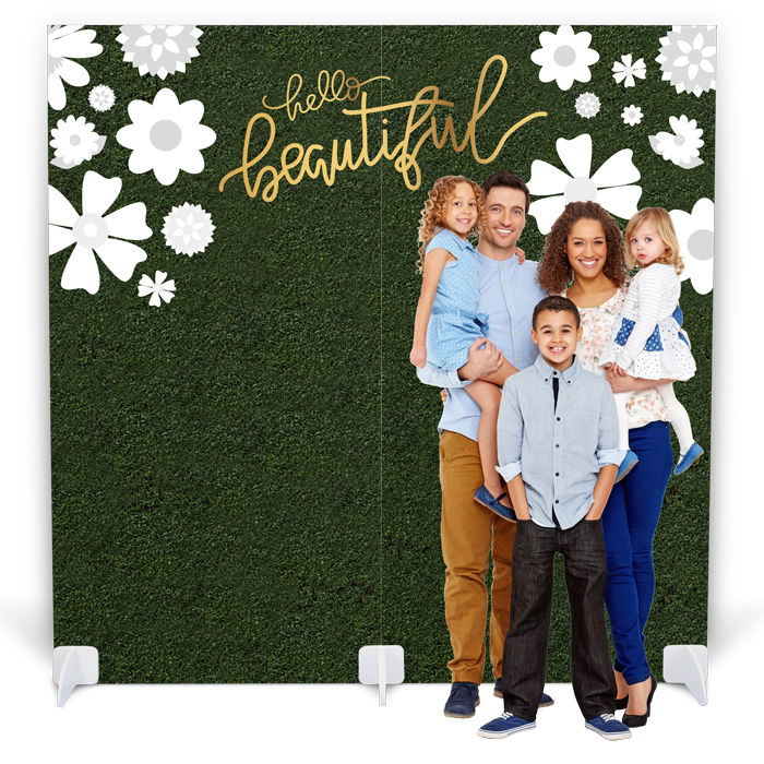"""Mother's Day Photo Booth - """"Hello Beautiful"""""""