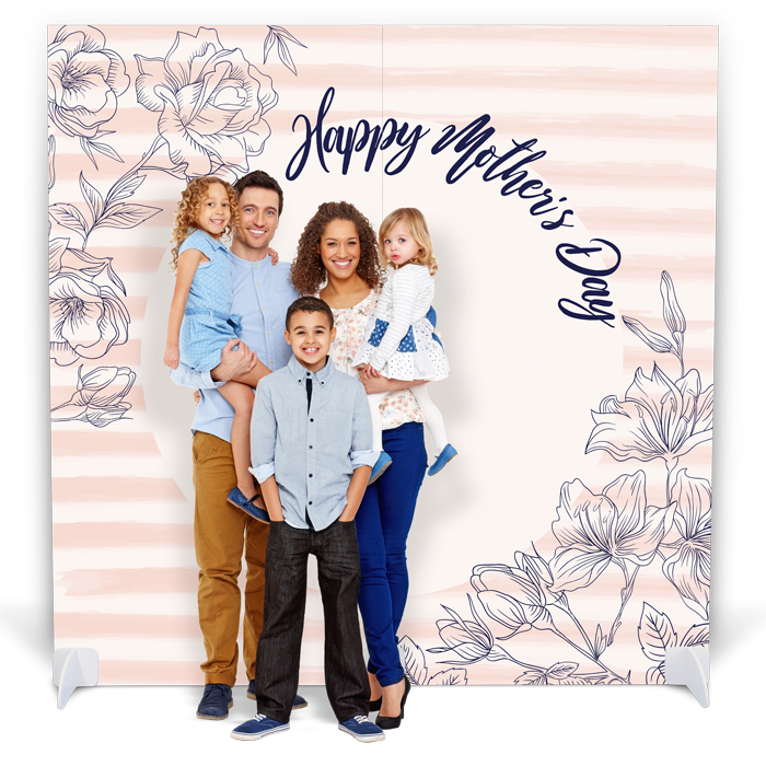 """Mother's Day Photo Booth with Props - """"Happy Mother's Day"""""""