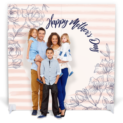 Mother's Day Photo Booth with Props -
