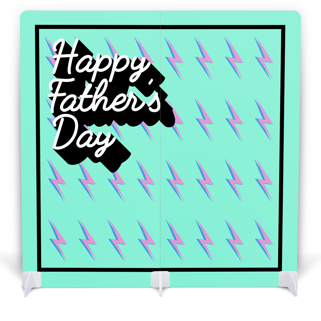 Father's Day Photo Booth with Props - Retro