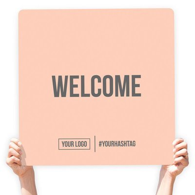 """Greeting Sign - """"Welcome"""""""