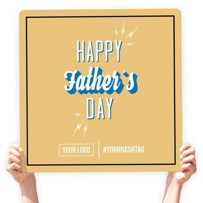 Father's Day Greeting Sign -