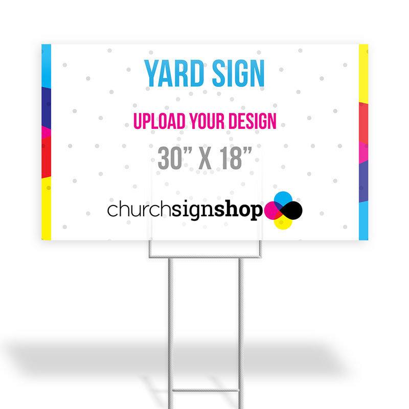 """Yard Sign (30"""" X 18"""")"""