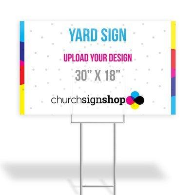 Yard Sign (30
