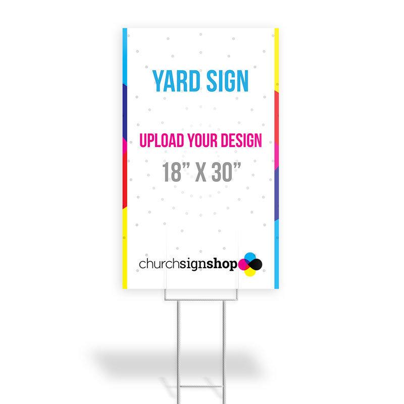 """Yard Sign (18"""" X 30"""")"""