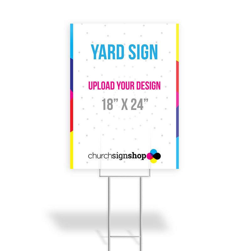 """Yard Sign (18"""" X 24"""")"""