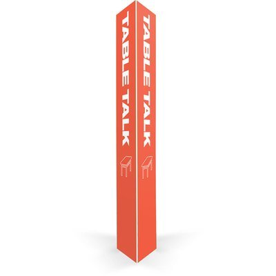 Table Talk Triangle Column (16 in.) (Throwback)