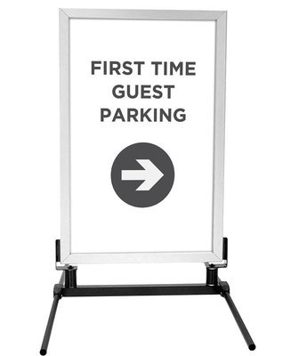 First Time Guest Parking Signs