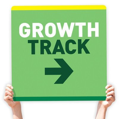 Growth Track Directional Signs