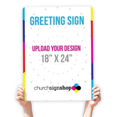 Greeting Sign (18