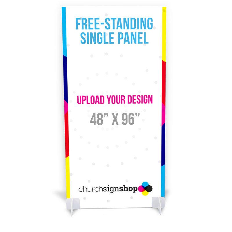 Free-Standing Single Panel