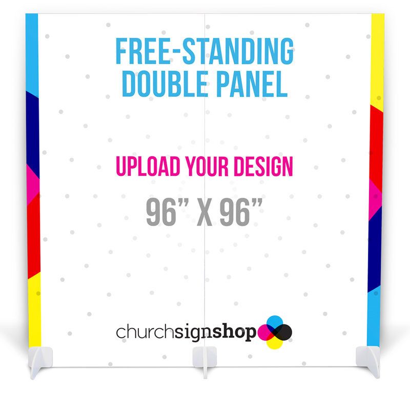 Free-Standing Double Panel