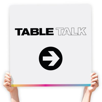 Table Talk Directional Signs (Modern)