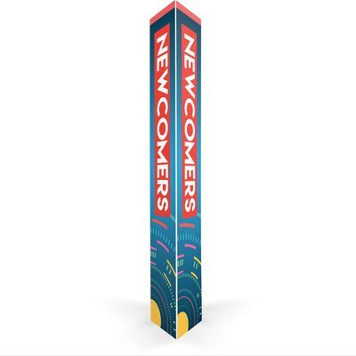 Newcomers Triangle Column (16 in.)