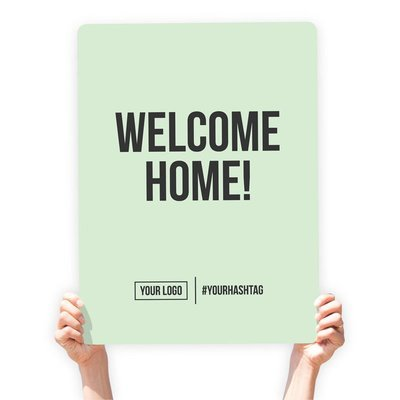 """Greeting Sign - """"Welcome Home!"""""""