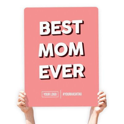 Mother's Day Greeting Sign -
