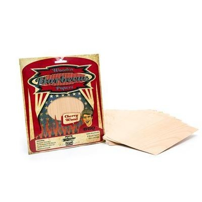 Pro Kamado Axtschlag Wood Papers Cherry 19 x 15 cm 8 stuks