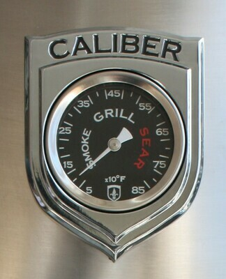 Thermometer, Inclusief Caliber Logo