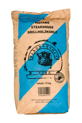 Black Ranch houtskool, Marabu Houtskool (Premium Quality)