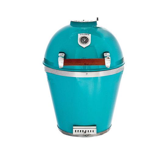 Kamado Turquoise, Handgreep van Hardhout