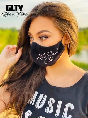 """Mondmasker Velvet """"Anti Social Club"""""""
