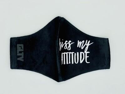 Kiss My Attitude Velvet Black