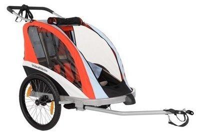 Przyczepka rowerowa WeeRide BUGGY GO 3w1 to doczepka, wózek i jogger w jednym.