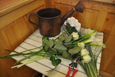 Bouquet Ton Blanc - A partir de