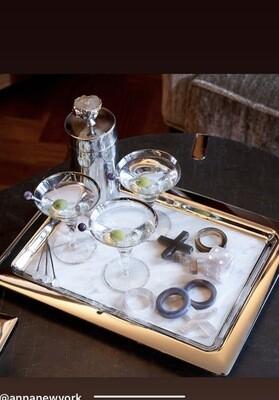 Anna New York Duo Carrara Tray