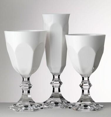 Mario Luca Giusti Dolce Vita Large White Goblets