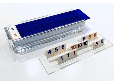 Acrylic Blue Rummikub