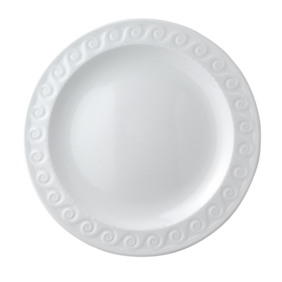 BERNARDAUD FRANCE LOUVRE Flat round dish 13″