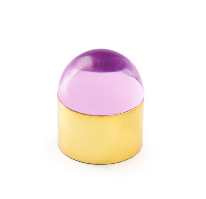 JONATHAN ADLER SMALL PINK GLOBO BOX