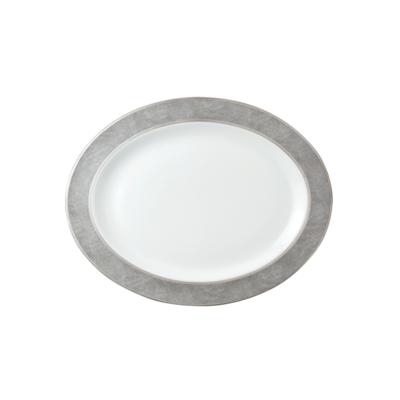 BERNARDAUD FRANCE SAUVAGE Oval Platter 13″