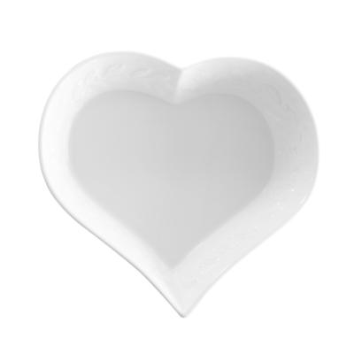 BERNARDAUD FRANCE LOUVRE Heart dish – 5.9″